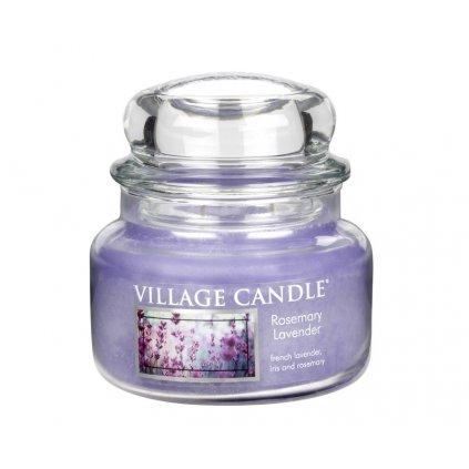 Village Candle - vonná svíčka Rozmarýn a levandule 262g