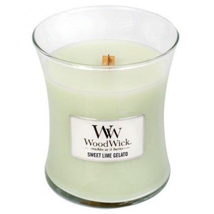 WoodWick - vonná svíčka Sladká zmrzlina 275g