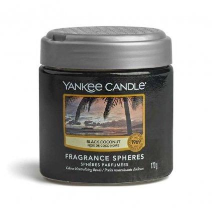 Yankee Candle - Spheres vonné perly Black Coconut (Černý kokos) 170g