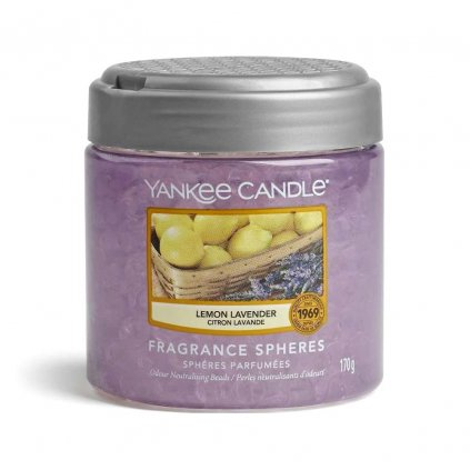 yankee candle lemon lavender perly