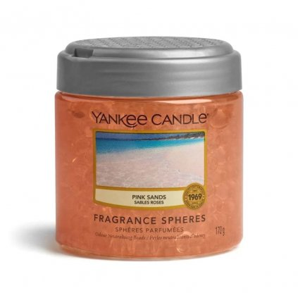 yankee candle pink sands sphere perly