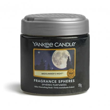 yankee candle midsummers night sphere perly