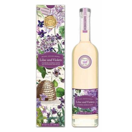 Michel Design Works - bublinková koupel Lilac & Violets 375 ml