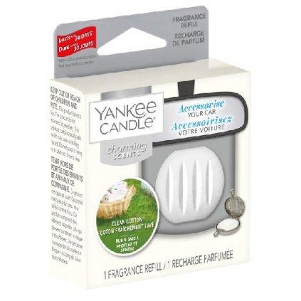 Yankee Candle - náhradní náplň Charming Scents, vůně Clean Cotton 1 ks