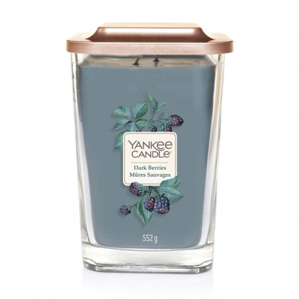 yankee candle dark berries svicka velka