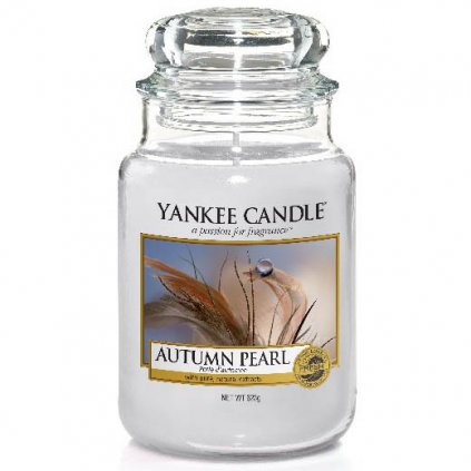 Yankee Candle - vonná svíčka Autumn Pearl 623g