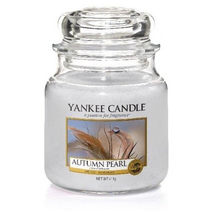Yankee Candle - vonná svíčka Autumn Pearl 411g