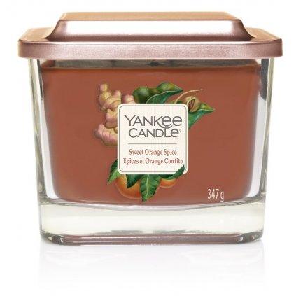 Yankee Candle Elevation - vonná svíčka Sweet Orange Spice 347g