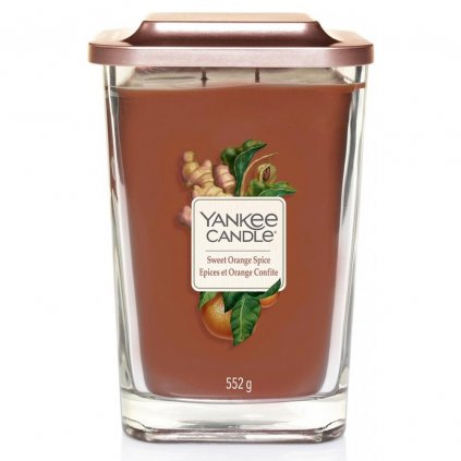 Yankee Candle Elevation - vonná svíčka Sweet Orange Spice 552g
