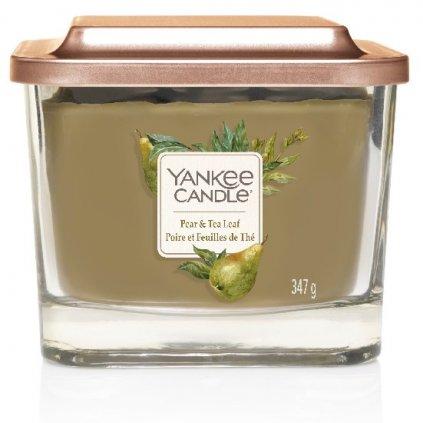 Yankee Candle Elevation - vonná svíčka Pear & Tea Leaf 347g