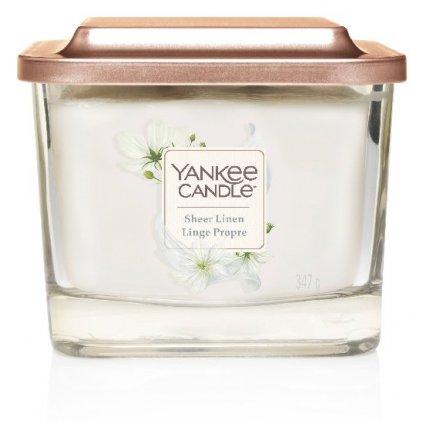 Yankee Candle Elevation - vonná svíčka Sheer Linen 347g