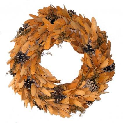 Věnec podzimní dekorační, 38 cm