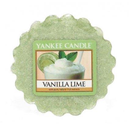 Yankee Candle - vonný vosk Vanilla Lime 22g
