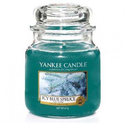 Yankee Candle - vonná svíčka Icy Blue Spruce 411g