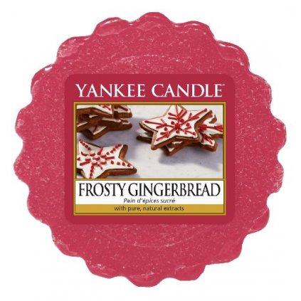 Yankee Candle - vonný vosk Frosty Gingerbread 22g