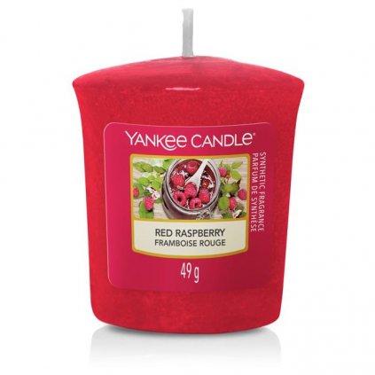 Yankee Candle - votivní svíčka Red Raspberry (Červená malina) 49g