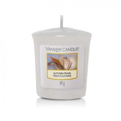 Yankee Candle - votivní svíčka Autumn Pearl 49g