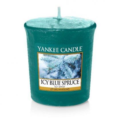 Yankee Candle - votivní svíčka Icy Blue Spruce 49g