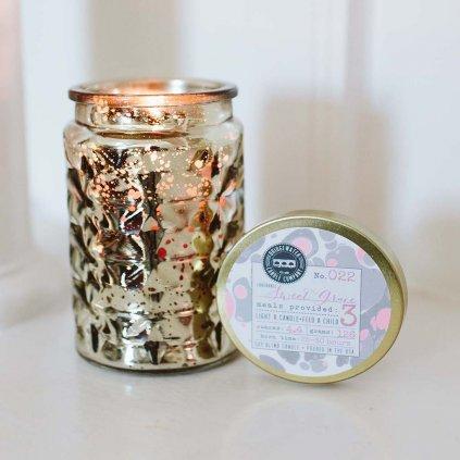 Bridgewater - vonná svíčka Sweet Grace ve zdobeném skle, 126g