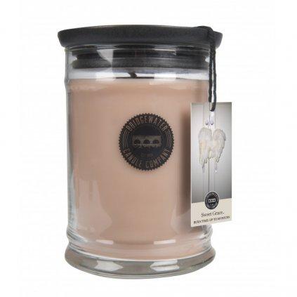Bridgewater - vonná svíčka Sweet Grace, velká 524g