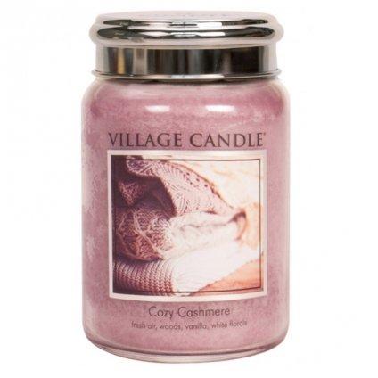 Village Candle - vonná svíčka Kašmírové pohlazení 737g