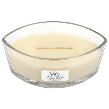 WoodWick - vonná svíčka Vanilla Bean (Vanilka) 453g