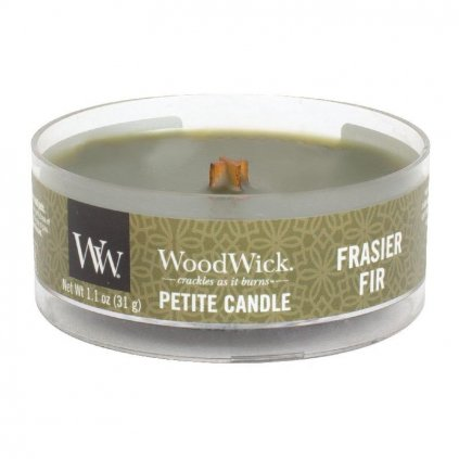 WoodWick - vonná svíčka Petite, Frasier Fir (Fraserova jedle) 31g