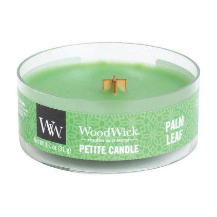 WoodWick - vonná svíčka Petite, Palmový list 31g
