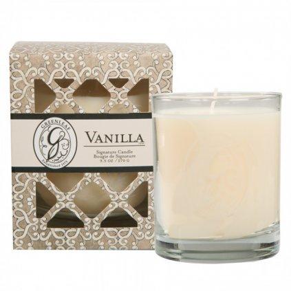 Greenleaf - vonná svíčka Vanilla, dárková krabička 270g
