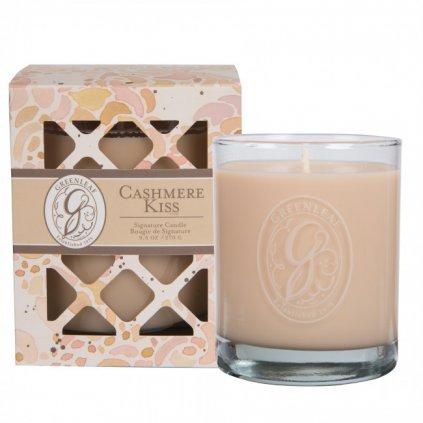 Greenleaf - vonná svíčka Cashmere Kiss, dárková krabička 270g