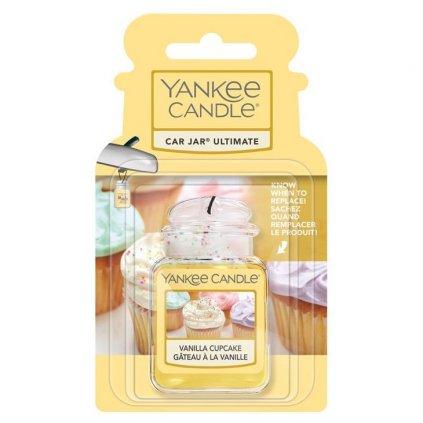 Yankee Candle - gelová visačka do auta Vanilla Cupcake 1 ks