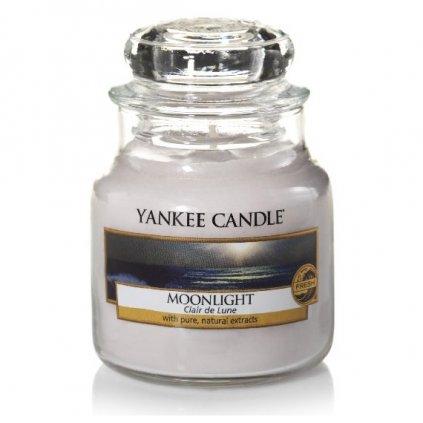 Yankee Candle - vonná svíčka Moonlight (Měsíční svit) 104g