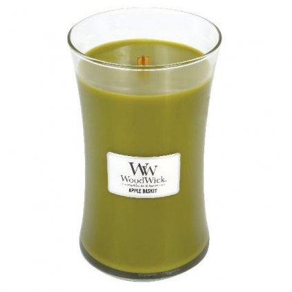 WoodWick - vonná svíčka Košík s jablky 609g