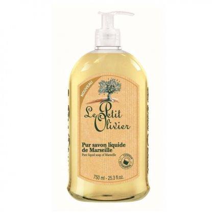 Le Petit Olivier - tekuté mýdlo s olivovým olejem Natural 750 ml