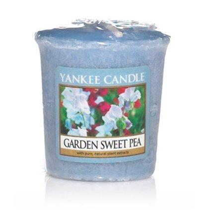 Yankee Candle - votivní svíčka Garden Sweet Pea 49g