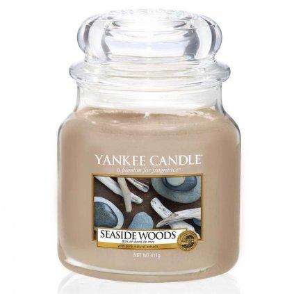 Yankee Candle - vonná svíčka Seaside Woods 411g