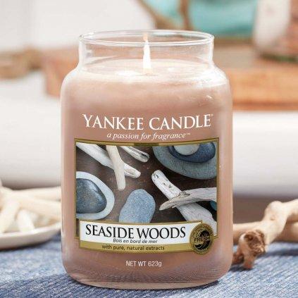 Yankee Candle - vonná svíčka Seaside Woods 623g