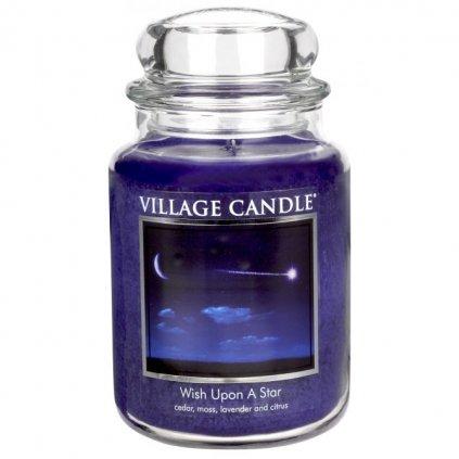 Village Candle - vonná svíčka Padající hvězda 737g
