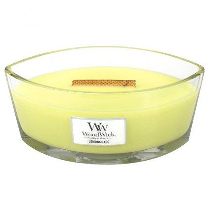 WoodWick - vonná svíčka Citrónová tráva 453g