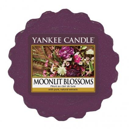 Yankee Candle - vonný vosk Moonlit Blossoms 22g
