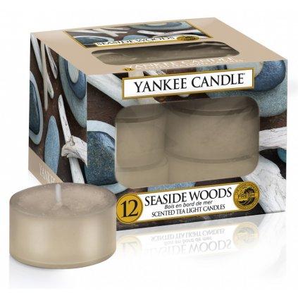 Yankee Candle - čajové svíčky Seaside Woods 12ks