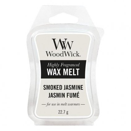 WoodWick - vonný vosk Smoked Jasmine (Kouřový jasmín) 23g