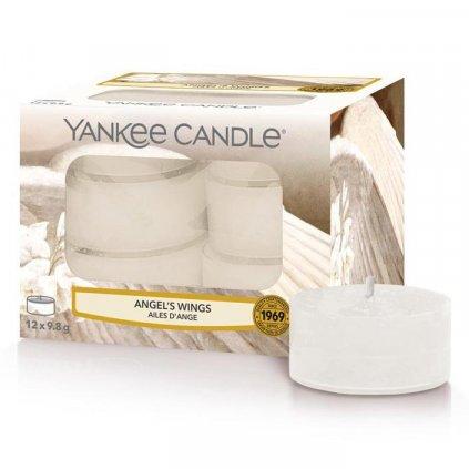 Yankee Candle - čajové svíčky Angel's Wings (Andělská křídla) 12 ks