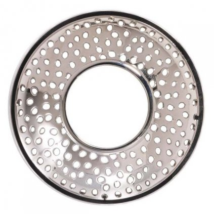 Yankee Candle - prstenec na svíčku Kensington Silver Metal