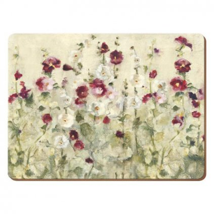 Creative Tops Premium - korkové prostírání Wild Field Poppies 40x29 cm, 4 ks