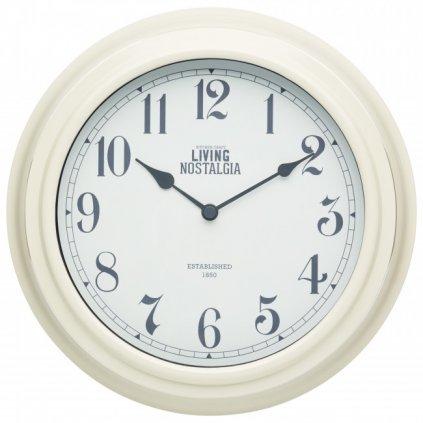 Kitchen Craft - hodiny Living Nostalgia, krémové 25 cm