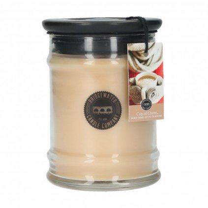 Bridgewater - vonná svíčka Cup Of Cheer, malá 250g