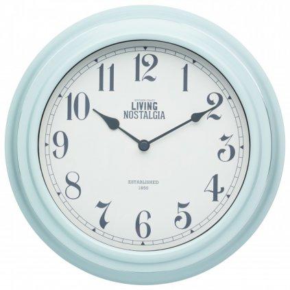 Kitchen Craft - hodiny Living Nostalgia, modré 25 cm