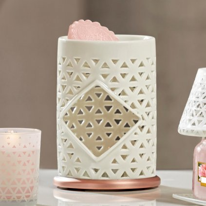 Yankee Candle - aromalampa Belmont Punched Ceramic