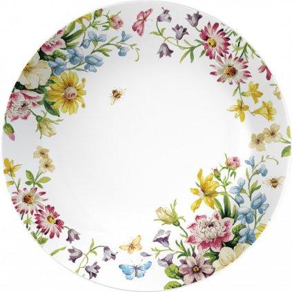 Katie Alice - porcelánový talíř na těstoviny English Garden 20,5 cm